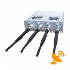 3G,CDMA,GSM DCS,PCS Cell Phone Jammer with Cooling Fans - 25 Metres
